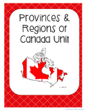 Canada's Provinces and Regions