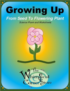 Growing Up From Seed to Flowering Plant