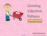 Valentine's Day Growing Patterns Smart Board Lesson