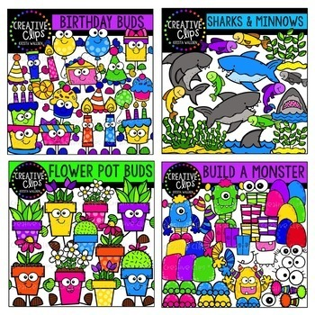 Growing Variety Bundle #3 ($50.00 Value) {Creative Clips Clipart}