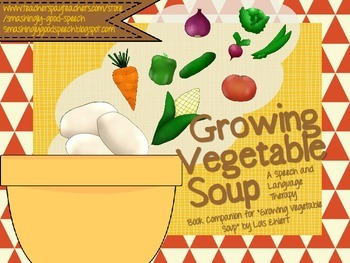 Growing Vegetable Soup Language Companion Packet!