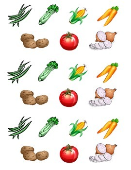 Growing Vegetables Activity