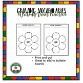Growing Vocabularies: Writing Trait Practice