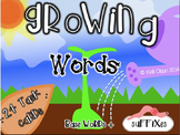 Growing Words: Suffix Center