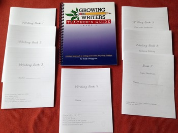Growing Writers Step by Step Writing Instruction for 1st Grade or Remedial 2nd