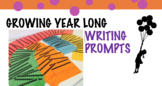 Growing Year Long Writing Prompts BUNDLE SALE