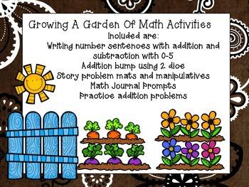 Growing a Garden of Math Activities