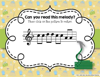 Growing a Garden of Melodies! Interactive Melodic Practice Game - La