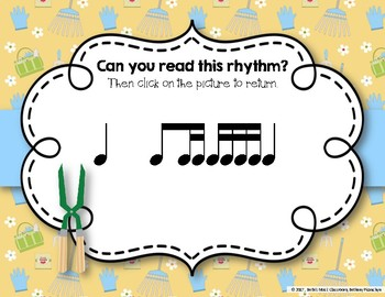 Growing a Garden of Rhythms! Interactive Rhythm Practice Game - Ti-tika