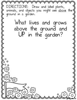 Growing a Garden of Vocabulary--Spring Reading and Writing Mentor Text Lesson