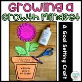 Growing a Growth Mindset: A Goal Setting Craftivity