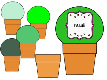 Growing a Reader Clipart (Personal & Commercial Use)