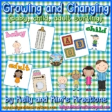 Growing and Changing {baby, child, adult sorting}