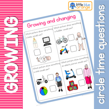 Growing and changing circle time questions