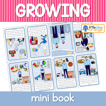 Growing and changing mini books