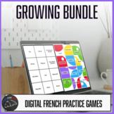Growing bundle - French digital practice games