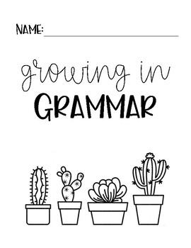 Growing in Grammar