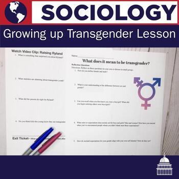 Growing up Transgender Lesson (3-4 days)