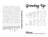 Growing up coloring book