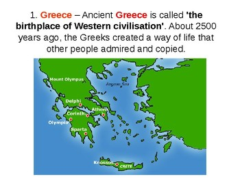 Growing up in Ancient Greece Quiz and Plenary