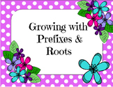 Growing with Prefixes & Roots Puzzles