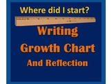 Growth Chart and Reflection: A Mini-Portfolio and Writing Reflection