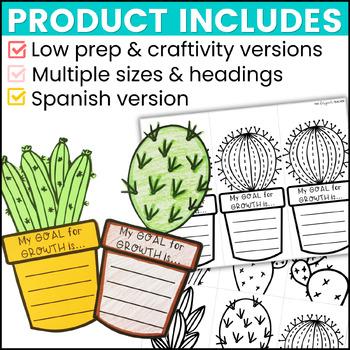 Growth Mindset Cactus Bulletin Board | Back to School Bulletin Board