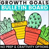 Cactus Goals Bulletin Board Growth Mindset Activity
