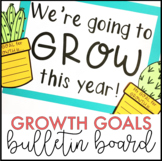 Back to School Bulletin Board Cactus Growth Mindset Activity