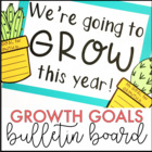 Back to School Growth Goals Bulletin Board Kit {Growth Mindset Cactus Theme}