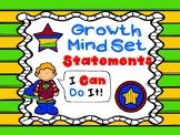 Growth Mind Set Statements