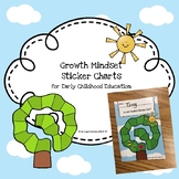 Growth Mind Set Sticker Charts