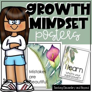 Primary Growth Mindset Posters {Second Pack}