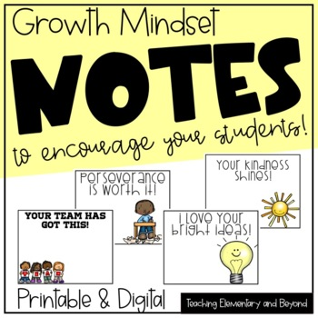 Growth Mindset Posters {First Pack}