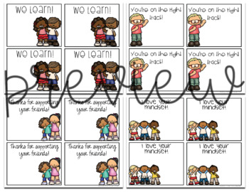 Primary Growth Mindset Posters {First Pack}