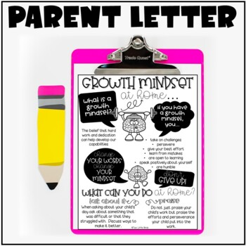 Growth Mindset: Posters, Activities, Bulletin Board, Flip Book
