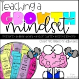 Growth Mindset Activities: Posters, Bulletin Board, Flip Book, Quotes