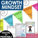 Growth Mindset - printable & digital activities - distance learning