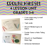 Growth Mindset 4 Lesson Unit Grades 3-6