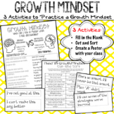 Growth Mindset Activities