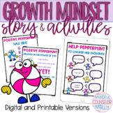 Positive Peppermint Has a Growth Mindset, Digital & Printa