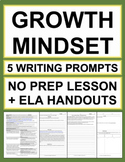 Growth Mindset Activities: 5 Writing Prompts