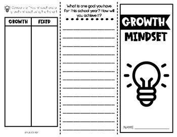 Growth Mindset Activities | Brochure