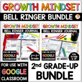 Growth Mindset Bell Ringers: Daily Warm-Up BUNDLE for 2nd