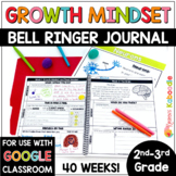 Growth Mindset Activities | Bell Ringer and Posters for 2nd-3rd Grade