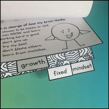 Growth Mindset Activities - Flipbook and Bookmarks