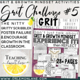 Growth Mindset Activities / Grit Activity / Nitty Gritty Scribbler Challenge #5