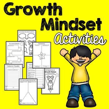 Growth Mindset Activities (No Prep)