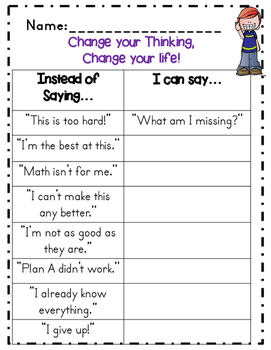 Growth Mindset Activities + Posters
