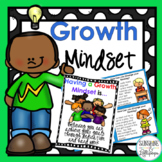 Growth Mindset Activities, Posters, Task Cards and More fo